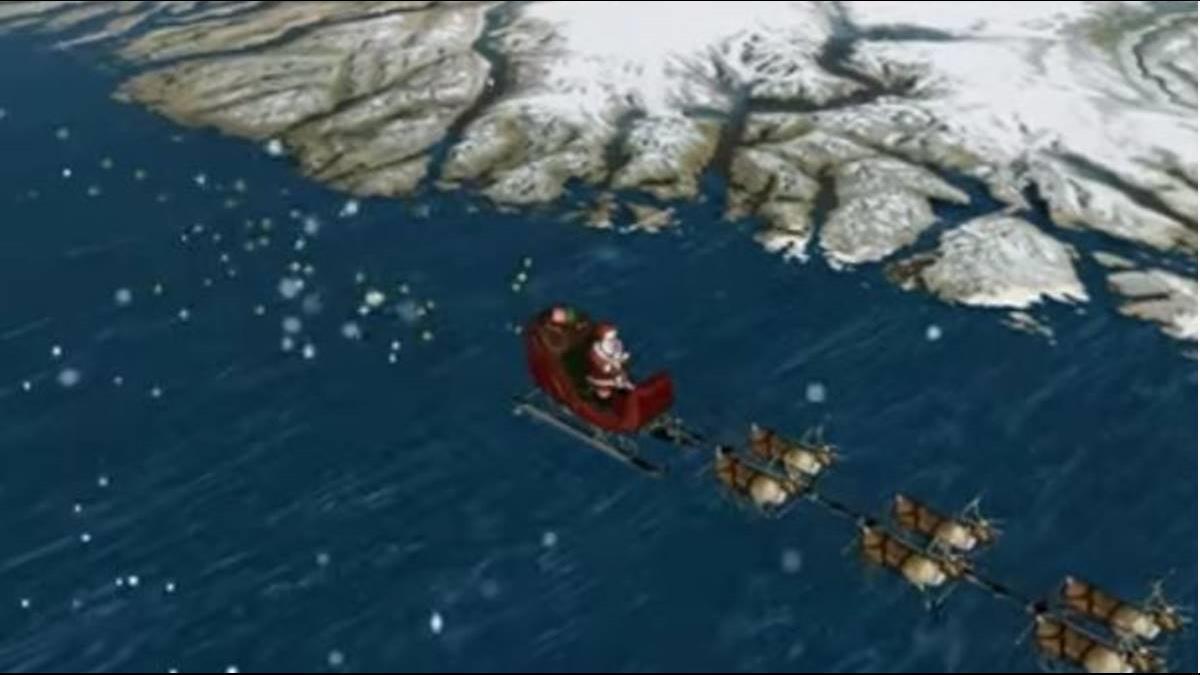 聖誕老人行蹤曝光?! 美64年傳統官網直播追蹤