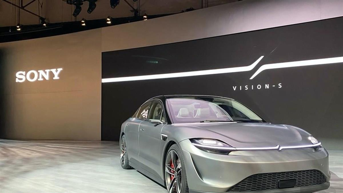 Sony 打造概念電動車 Vision-S 展示旗下移動安全技術