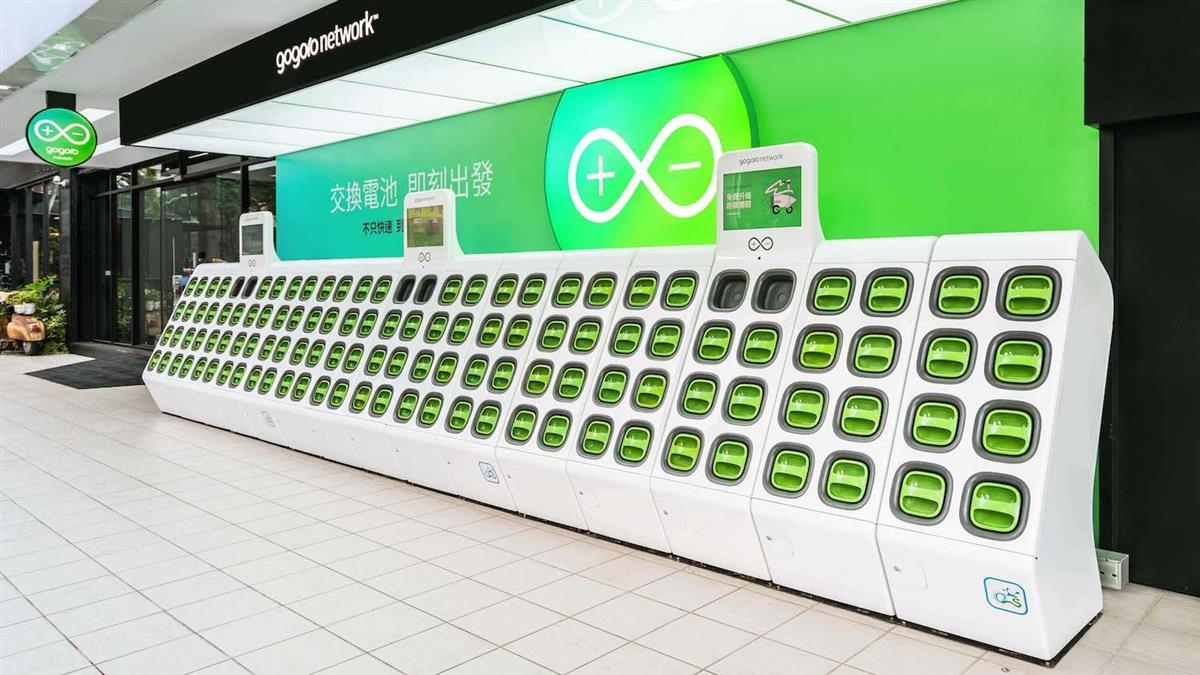 再投25000顆電池!Gogoro將增 60 多座超級電池交換站
