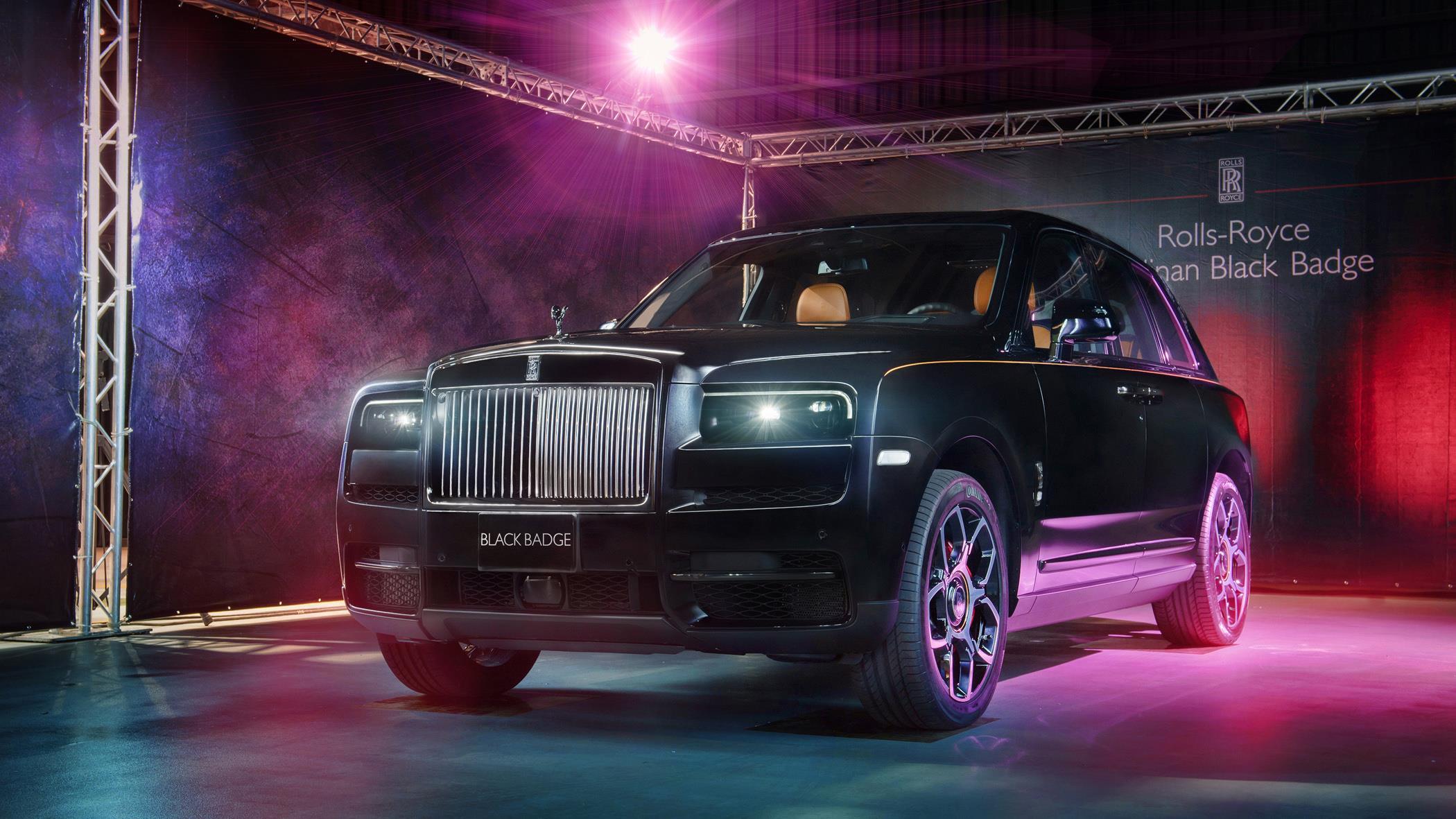 年輕富豪新選擇,Rolls-Royce Cullinan Black Badge 正式登台
