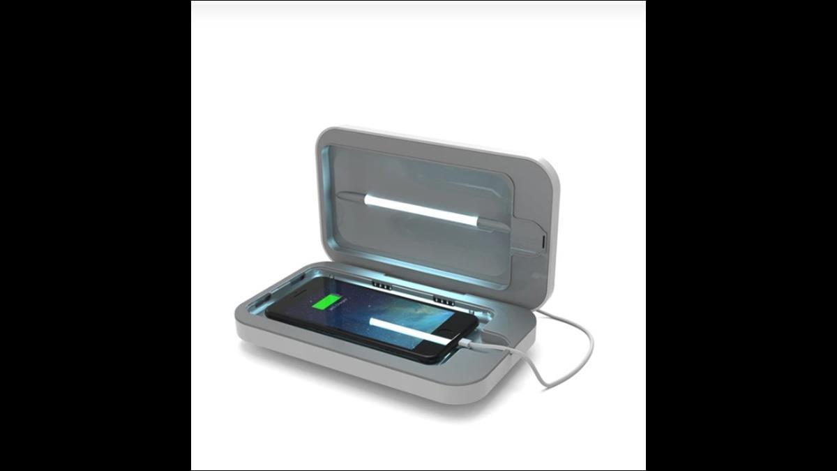 武肺新商機 手機消毒盒賣到斷貨! 10分鐘去除表面99.99%細菌