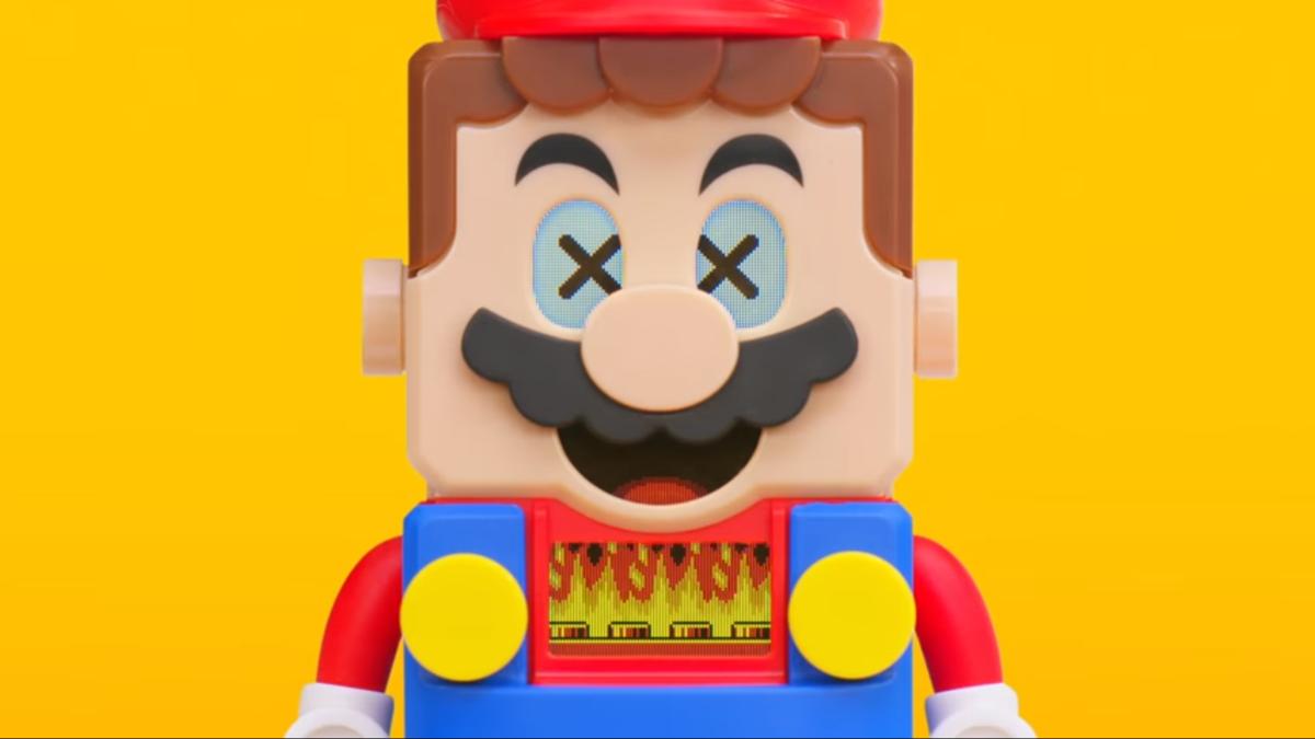 有表情的積木!「樂高超級瑪利歐」以高互動性重現遊戲關卡