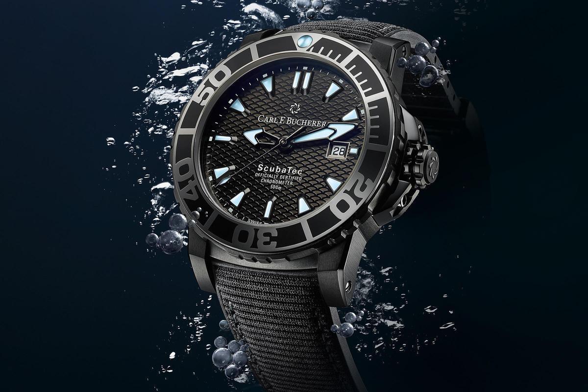 黑潮襲來!寶齊萊發表全新柏拉維深潛腕錶碳黑版