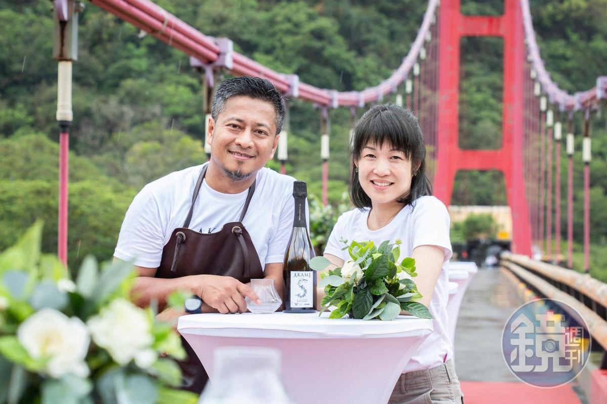 當原生小米遇上本土香檳 南台灣最火餐廳AKAME將部落滋味裝瓶