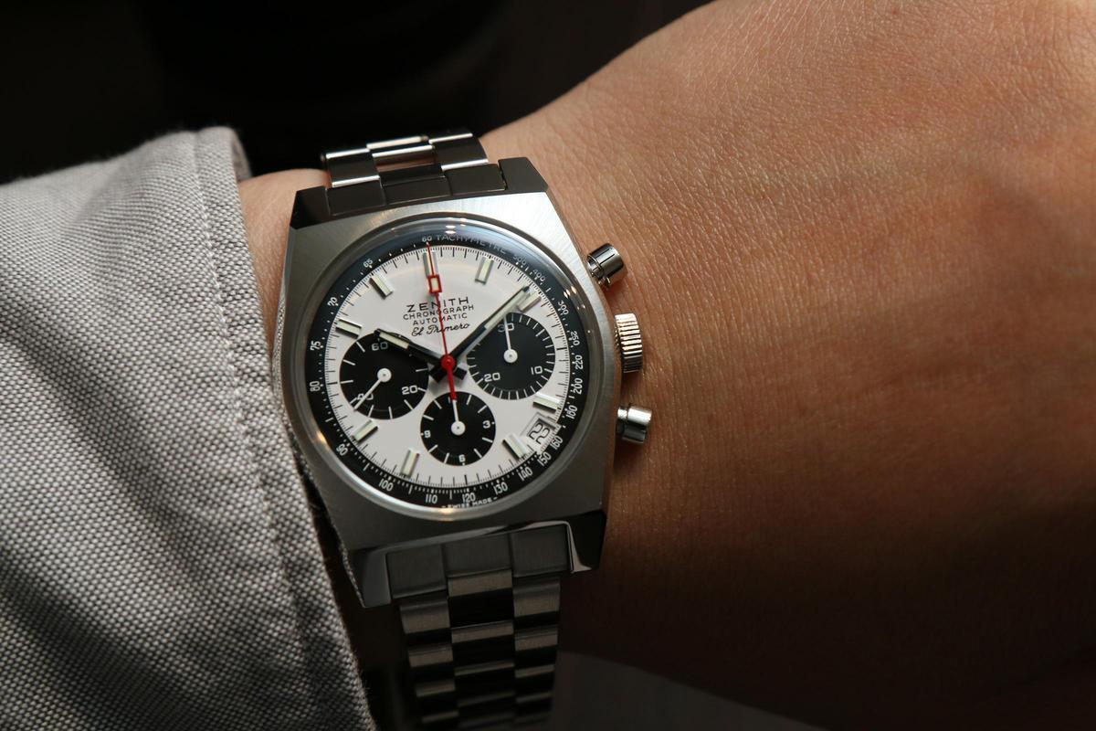 終極復刻的完成式!ZENITH A384 REVIVAL復刻版腕錶