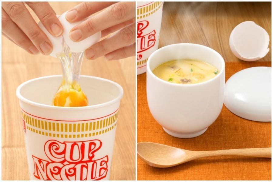杯麵沒喝完的湯別倒掉 日清曝「3步驟變蒸蛋」