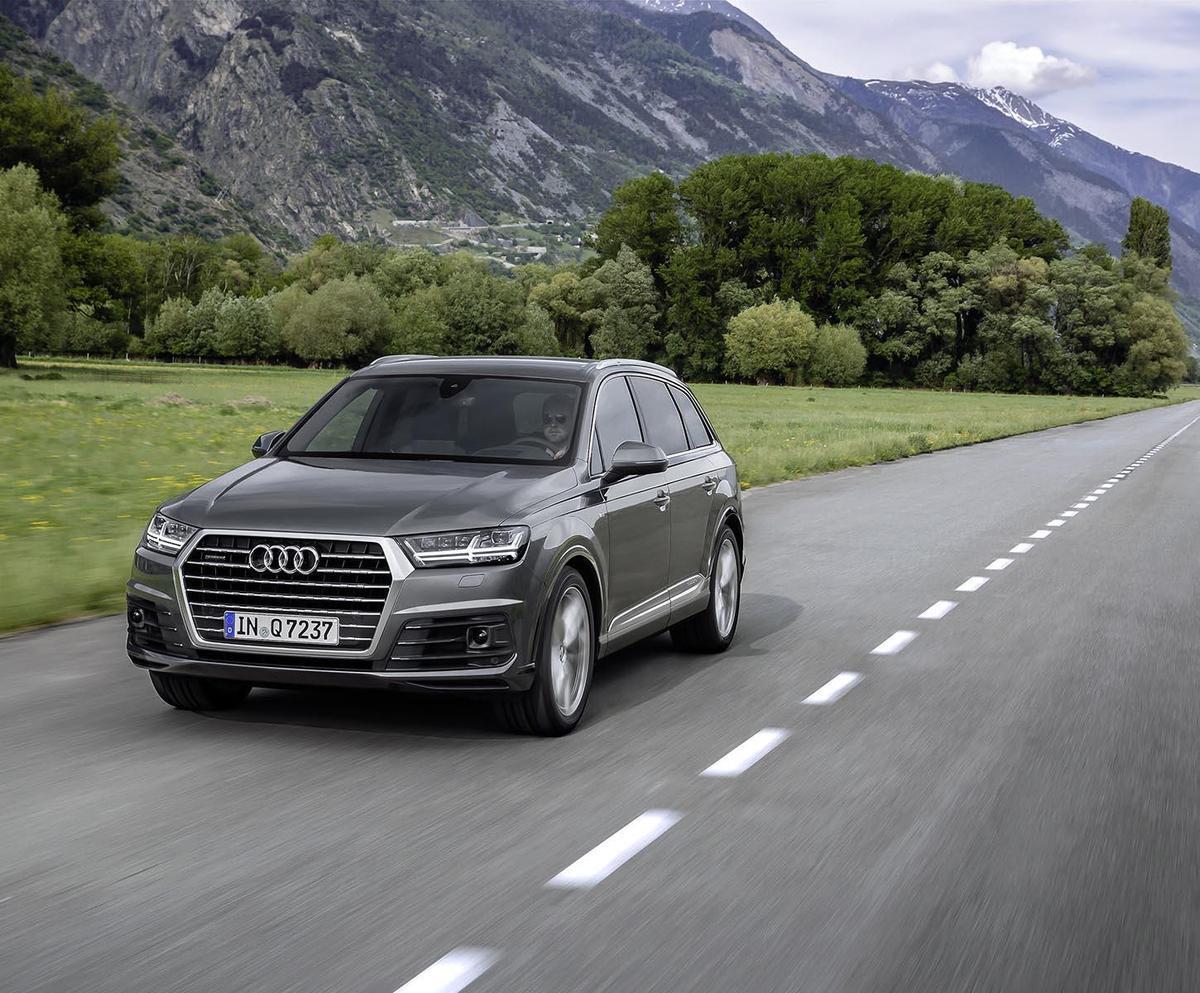 配備加量不加價 Audi Q7 S-Line登台