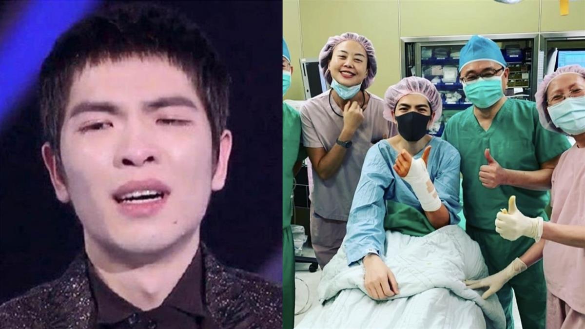 33歲蕭敬騰爆急送醫開刀!近況曝光 粉絲超憂心