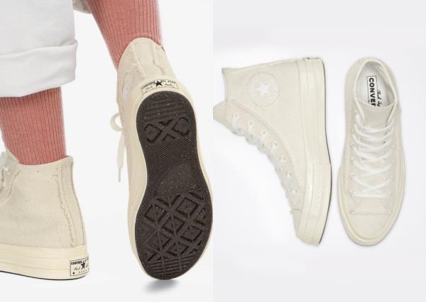 Converse新鞋款「溫柔奶油燕麥」色 今夏靠它成為目光焦點