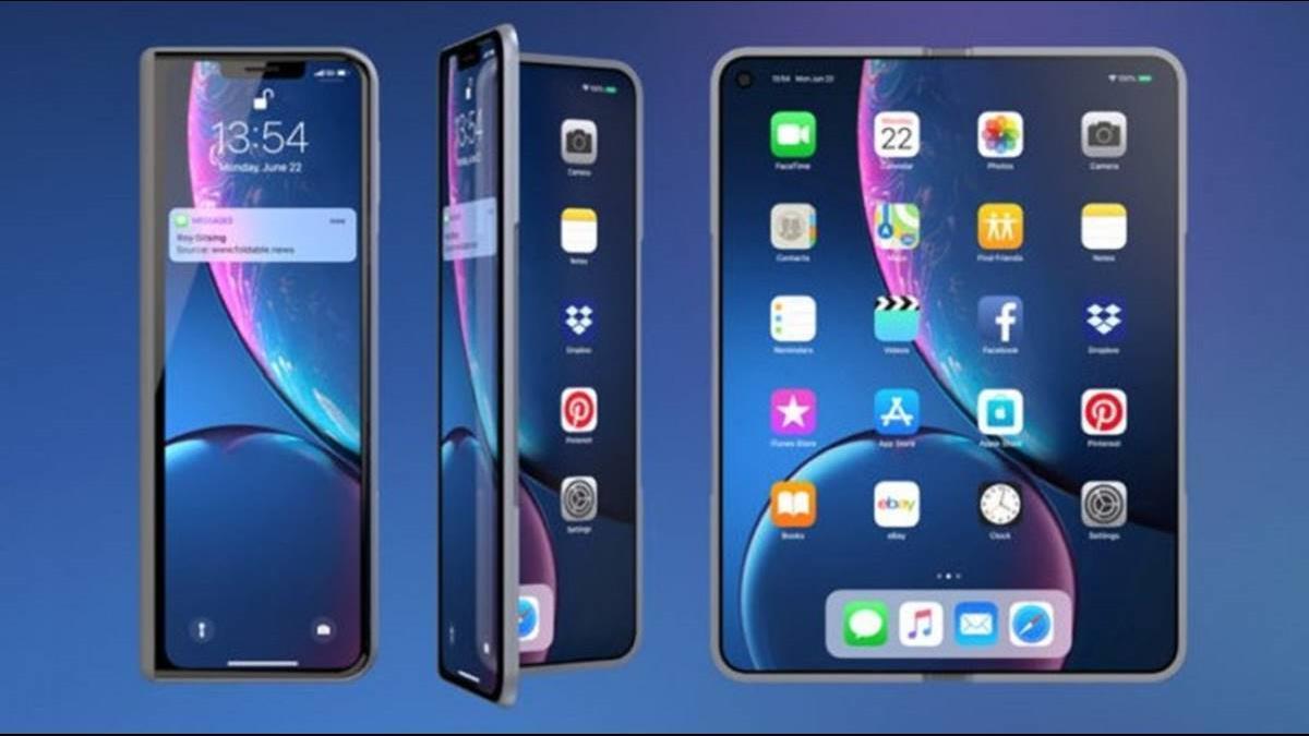 摺疊iPhone有譜? 蘋果研發「柔性電池」優化最佳使用空間