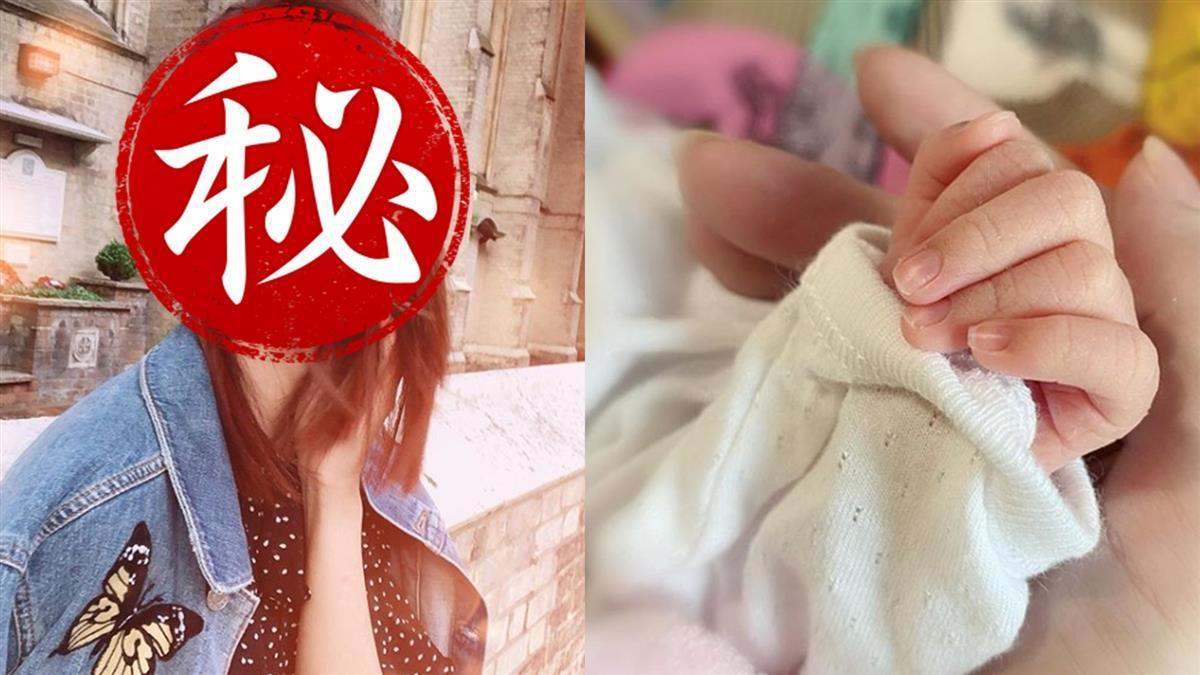 密婚圈外男友!35歲楊秀惠當媽 甜曬女兒小手