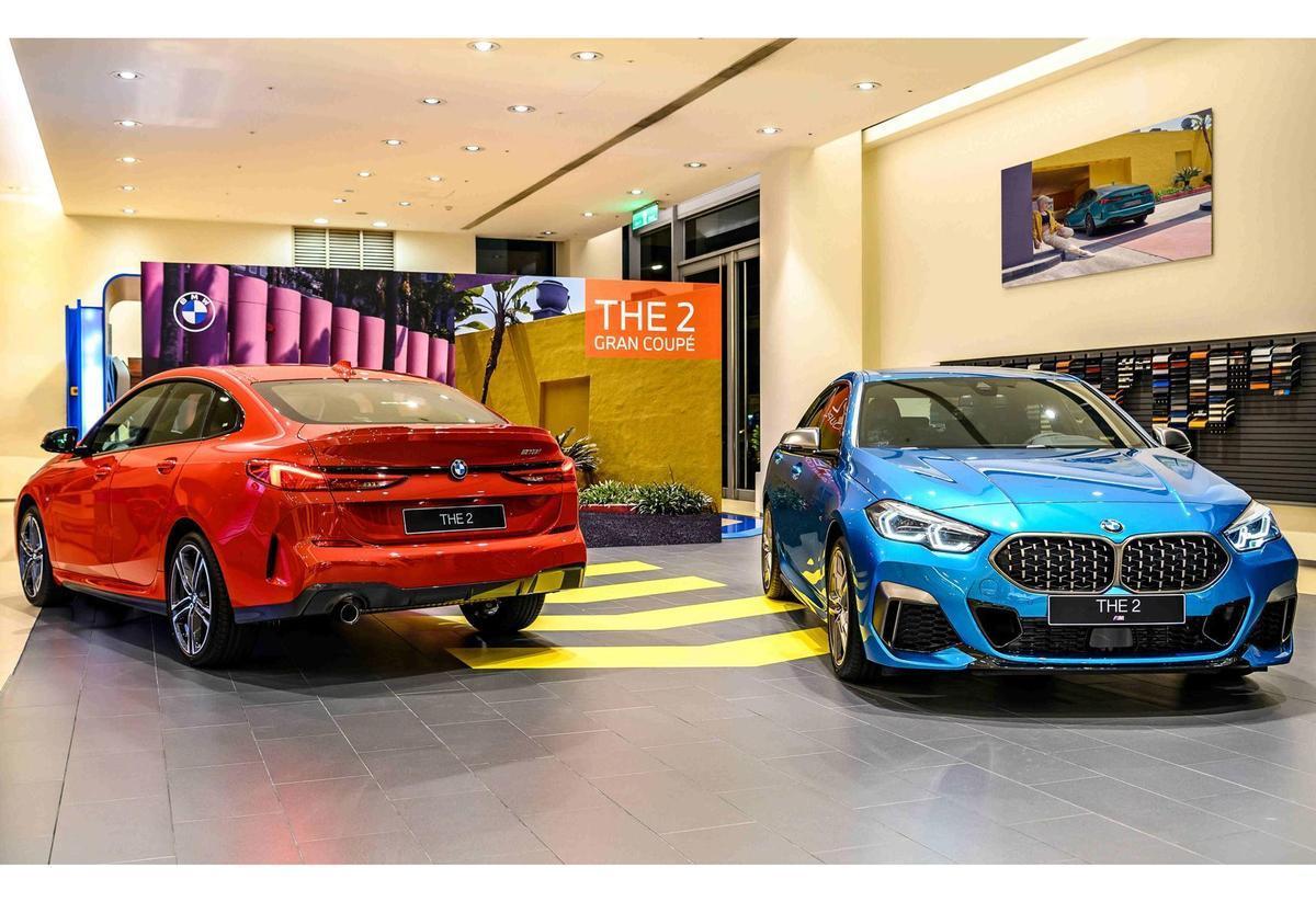 型非得已!BMW 2系列Gran Coupé四門跑車全台展間同步發表