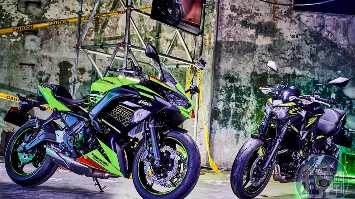 重磅新車齊聚 Kawasaki發表新年式車款