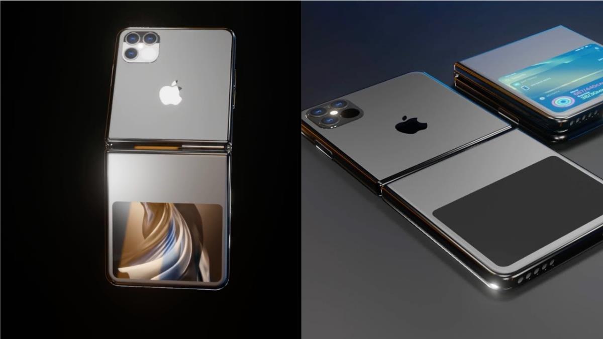 蘋果要推摺疊機?!iPhone12旗艦機預測瘋傳,三鏡頭搭配摺疊螢幕,質感黑X小視窗螢幕超有fu~