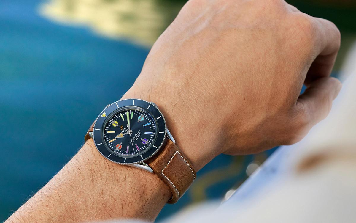 錶獻愛心!百年靈推出Superocean '57第二代限量錶