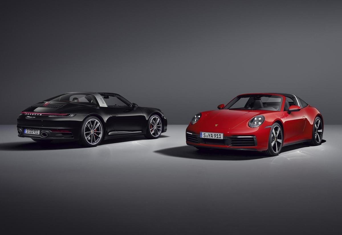 優雅、極致、獨樹一格!全新Porsche 911 Targa 4S