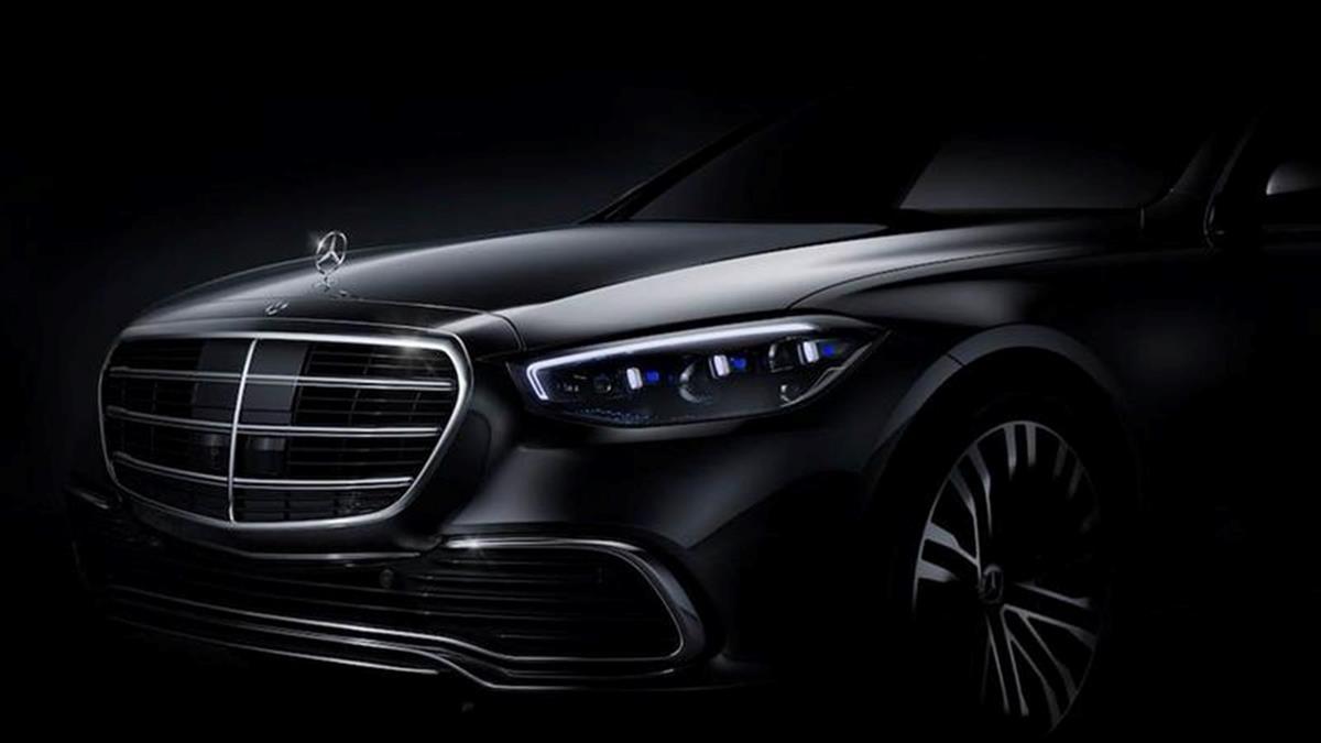 全新世代S-Class車頭照曝光 預計九月投產年底發表
