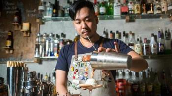 民宿開酒吧賣台味 必喝港都男子創意調酒