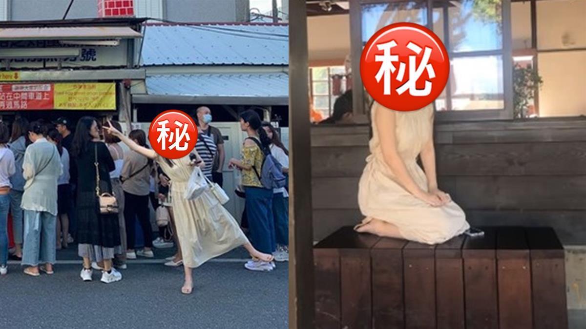 花蓮蔥油餅店驚見「超大女神」!上萬網友暴動了