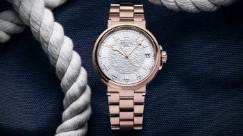 更貼近高階運動錶的全貌!寶璣Marine系列新增鍊帶設計