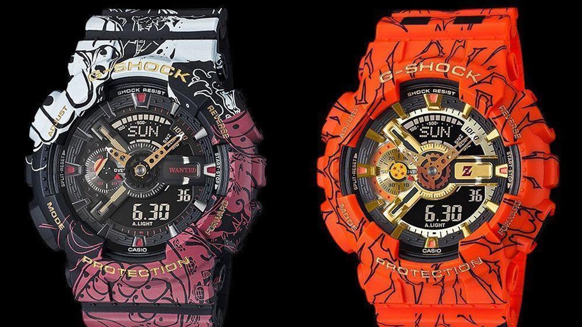 《航海王》《七龍珠Z》聯名錶款將陸續開賣 讓你把魯夫、悟空戴在手上