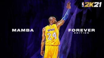 紀念布萊恩《NBA 2K21》壓軸公布2款「永懷曼巴版」手繪封面