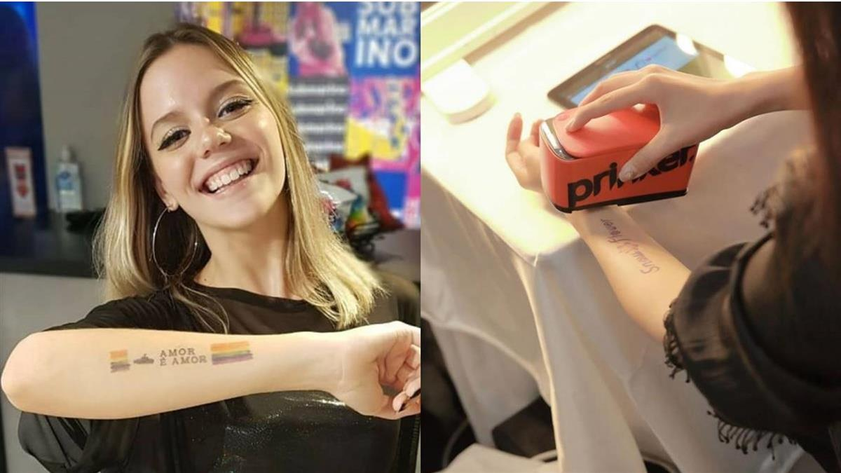 跟刺青的一百種害怕理由說掰掰!韓國無痛「隨身刺青列印機」,3秒完成、圖案還能自己創作!