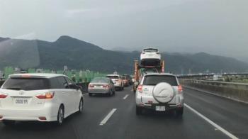國5取消小客車走路肩 宜蘭人塞車陣超不爽
