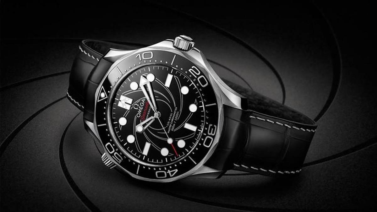 尊貴的任務!OMEGA鉑金版海馬潛水300米James Bond腕錶
