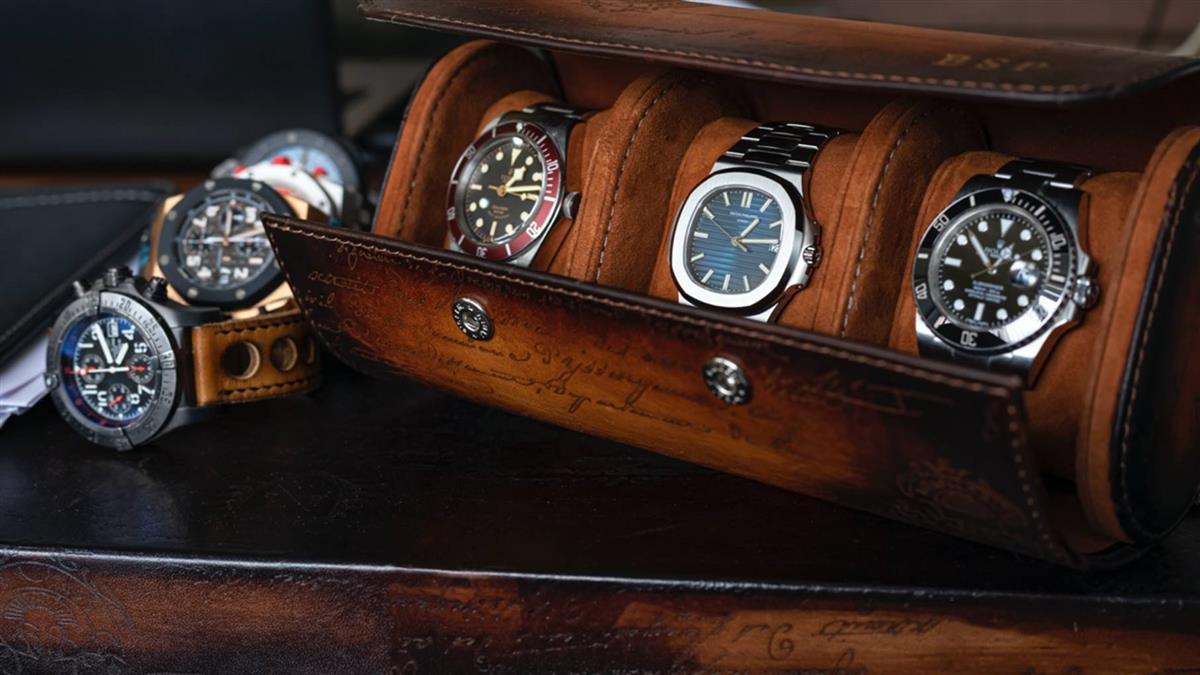 頂級腕錶珍藏美學 伯倫尊爵皮革錶盒