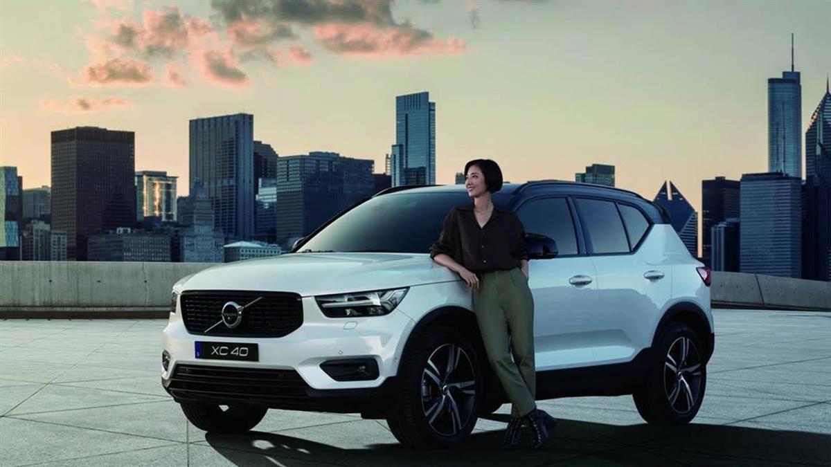 桂綸鎂代言加持 VOLVO XC40 T3首批宣告完售