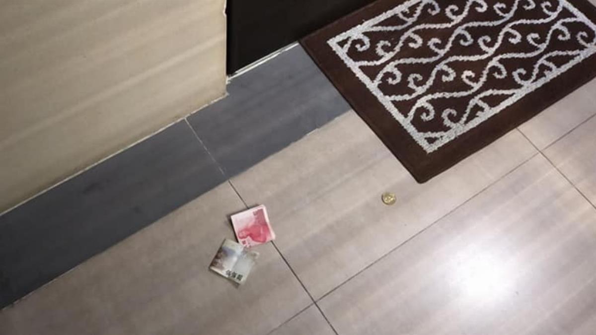 國中生叫外送錢扔地上!女外送員含淚撿零錢 網驚不單純