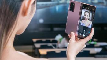 三星5G手機連發拚龍頭 新款摺疊Galaxy Z Fold 2報到