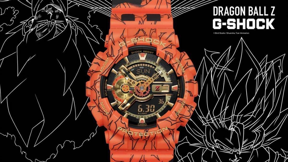 G-SHOCK七龍珠Z聯名錶款台灣開賣時間確定!