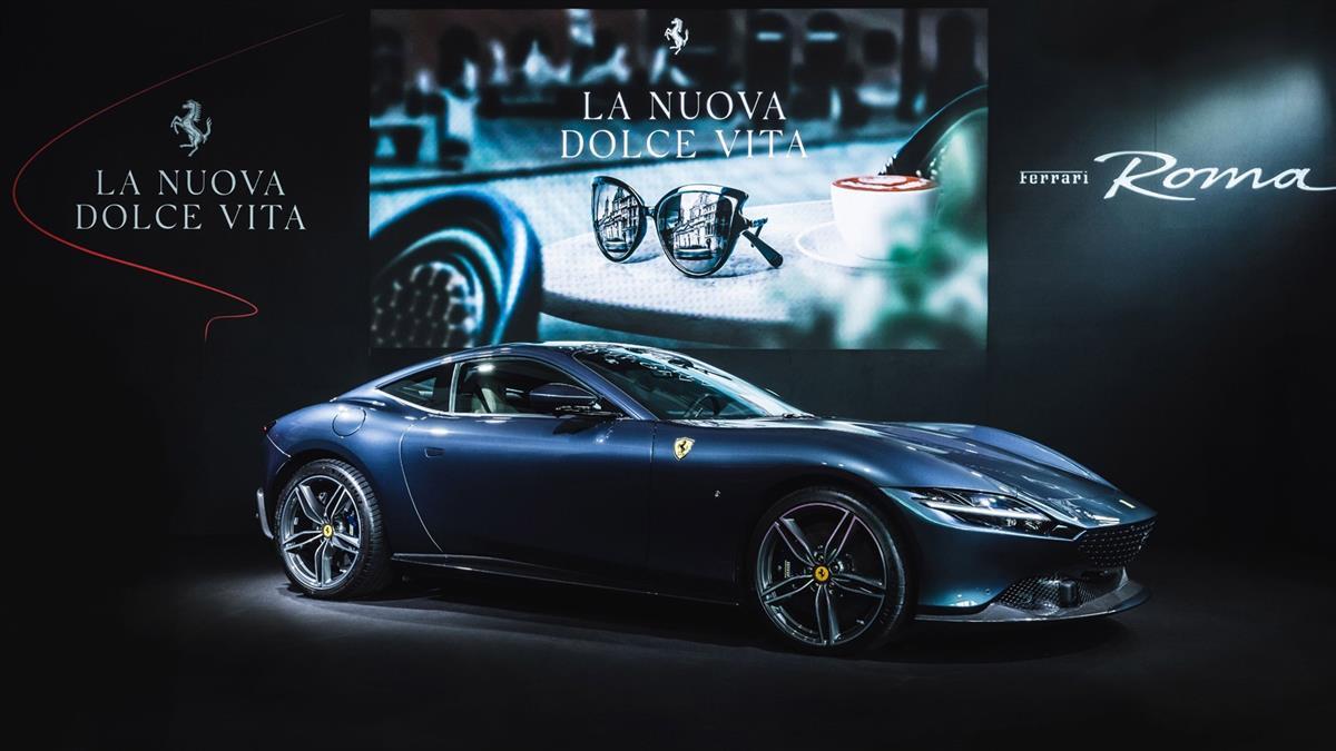 Ferrari Roma 全新 GT 跑車正式在台登場!含台灣標準配備車價為 1280 萬元