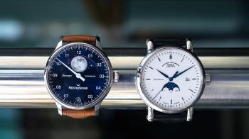 德國統一30年 東西德兩大錶廠聯名限量月相錶