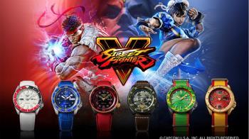 SEIKO X 快打旋風5 聯名限定錶款 經典格鬥風暴再次來襲