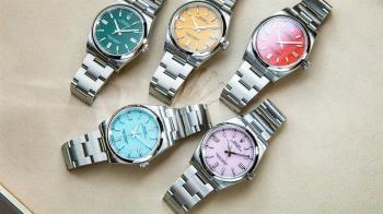 席捲錶壇的彩色狂潮 多彩面盤選擇多