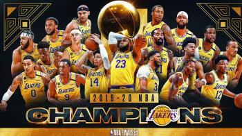 湖人勇奪NBA總冠軍!詹姆斯大三元率隊捧金盃