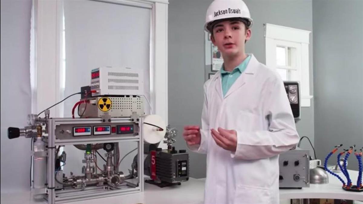 12歲童房內實現核融合 打破世界紀錄爸慶幸:還好材料不多