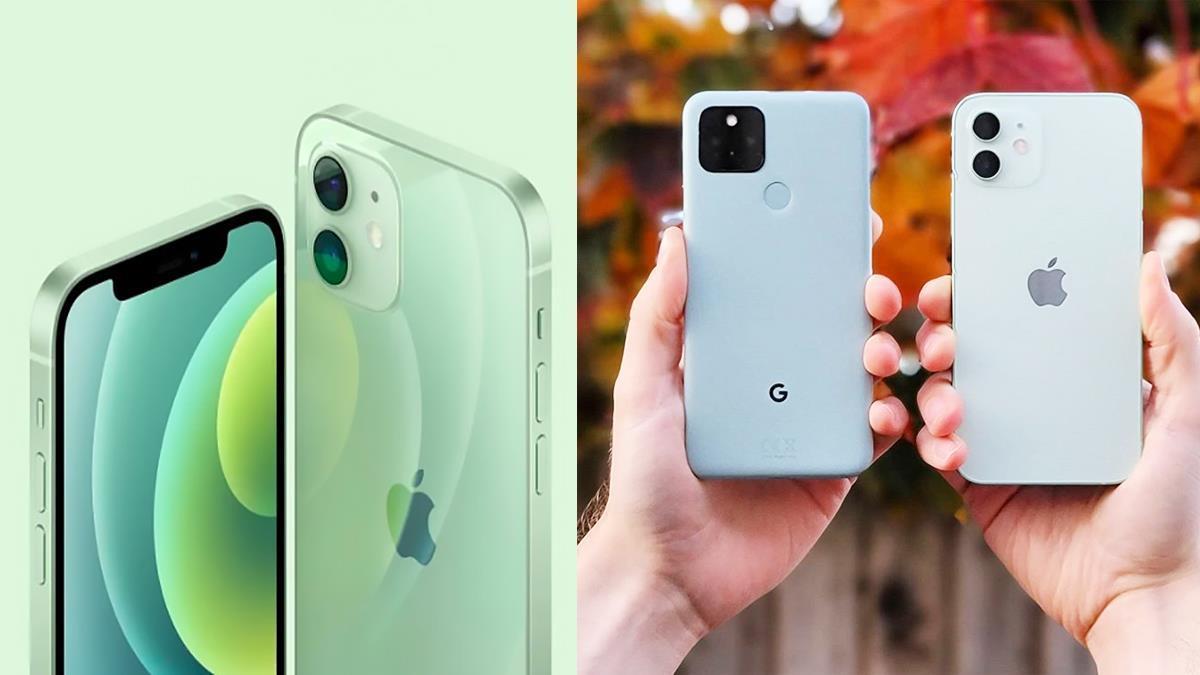新崛起的大勢仙色!iPhone12「朦朧琉璃綠」金屬包邊+輕透質感美到哭,實機的透明感讓人想馬上下單啊!