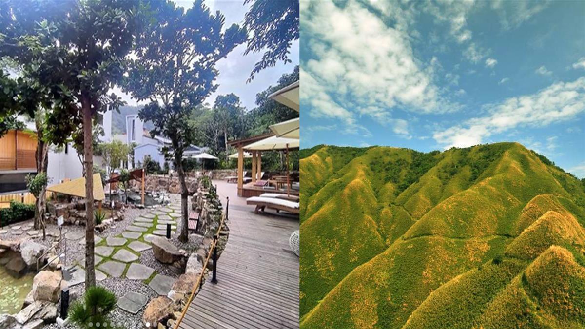 在房間就能欣賞抹茶山!宜蘭爆紅「呆水溫泉」剛開幕就一房難求,露天美人湯根本是京都祇園了吧~
