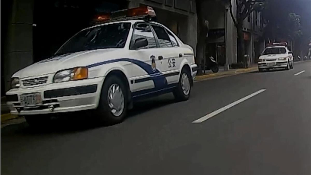 獨 / 北市街頭驚見「中國公安車」!騎士全嚇傻 警回應了