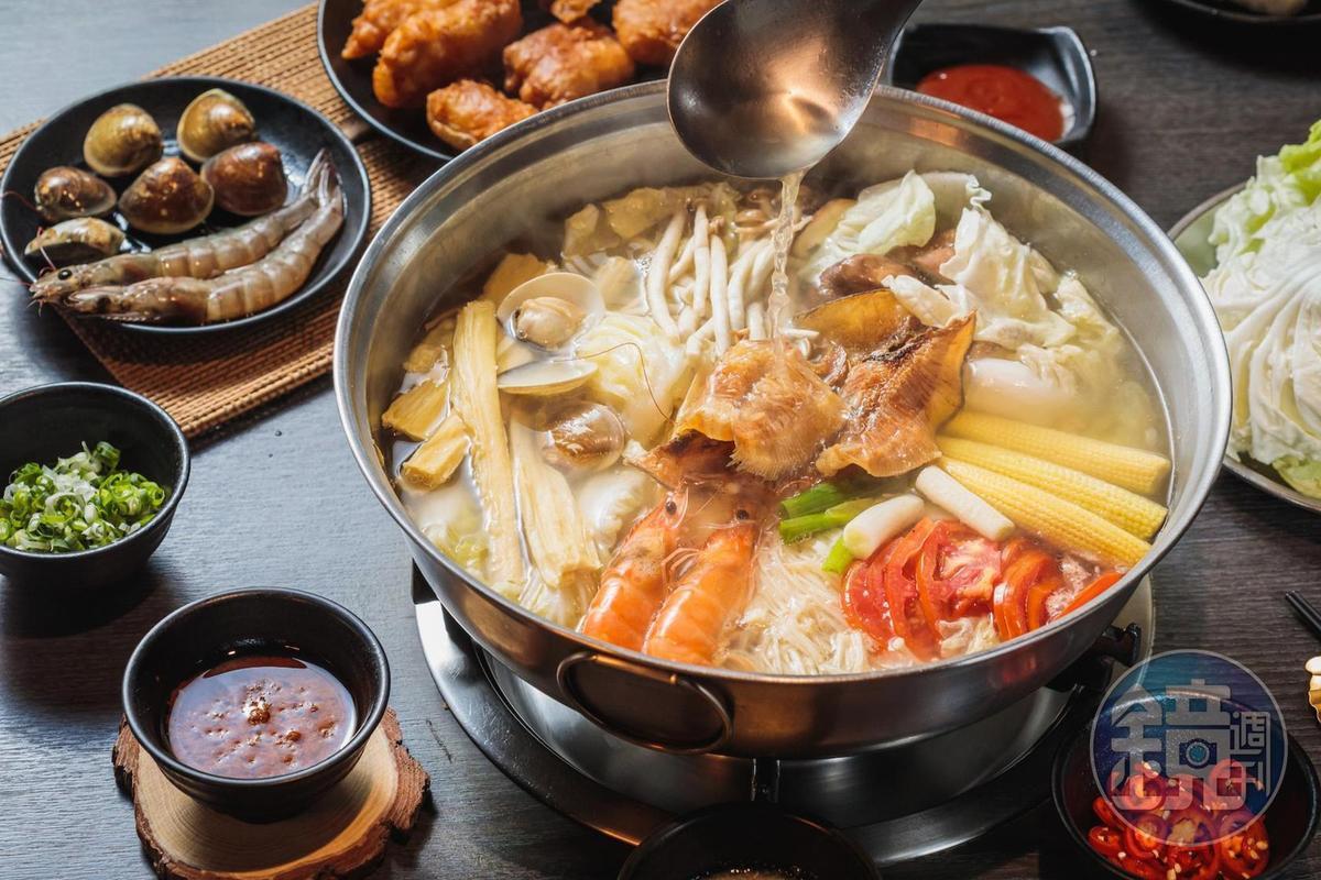 永和老店「麒麟閣」沙茶火鍋越煮越甜 還有不可不吃的優秀炸物
