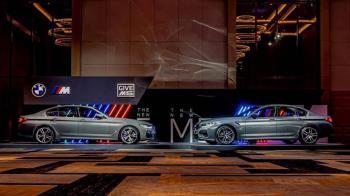 性能雙雄!全新BMW M5 & M550i