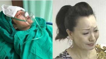 周湯豪緊急送醫開刀!抽搐戴氧氣罩 媽媽比莉痛訴病況