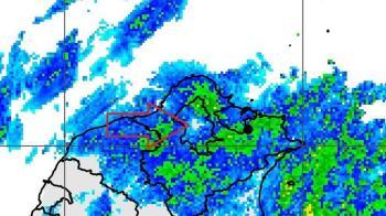 全台北只有士林沒下雨 鄭明典一張圖解密「龜神傳說」