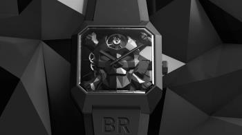 戰機與骷髏頭的獨特組合!BELL & ROSS發表BR 01 Cyber Skull腕錶