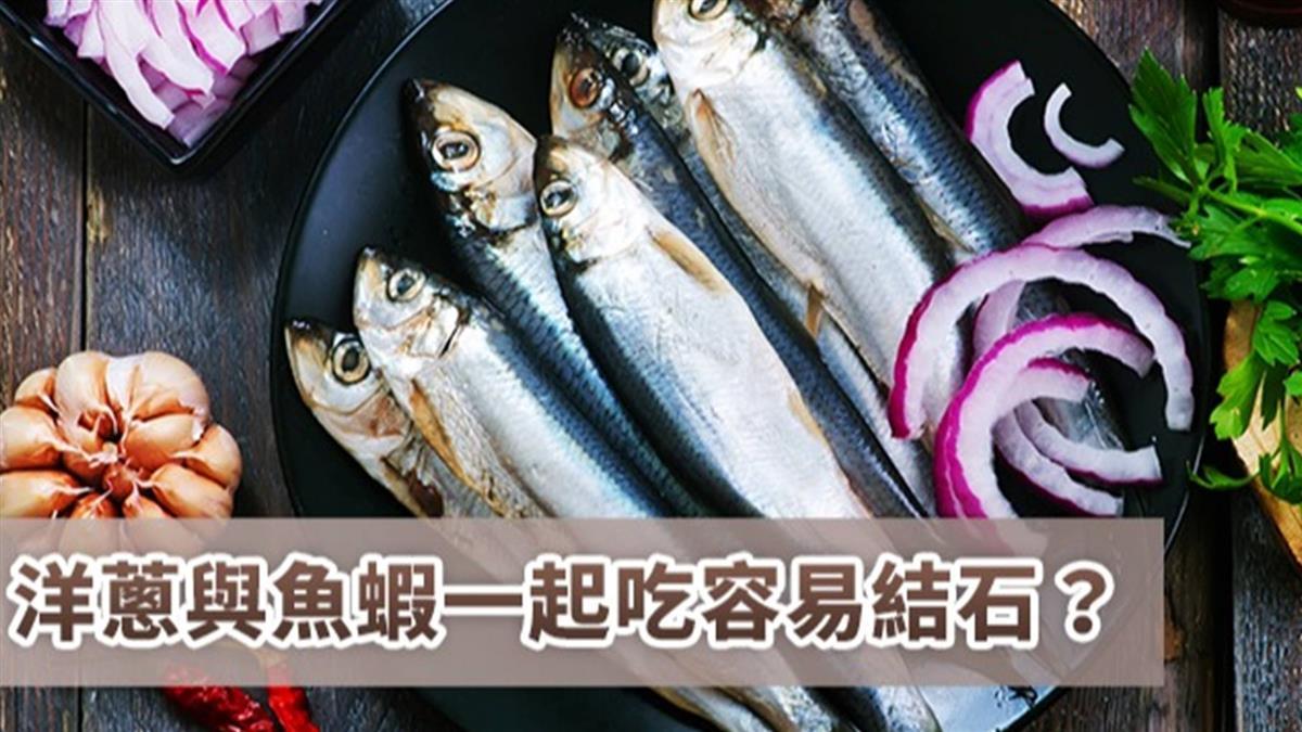洋蔥與魚蝦一起吃易結石? 營養師:洋蔥非高草酸食物