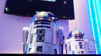 星戰迷看過來! 會動、可操控的R2-D2機器人將在台上市